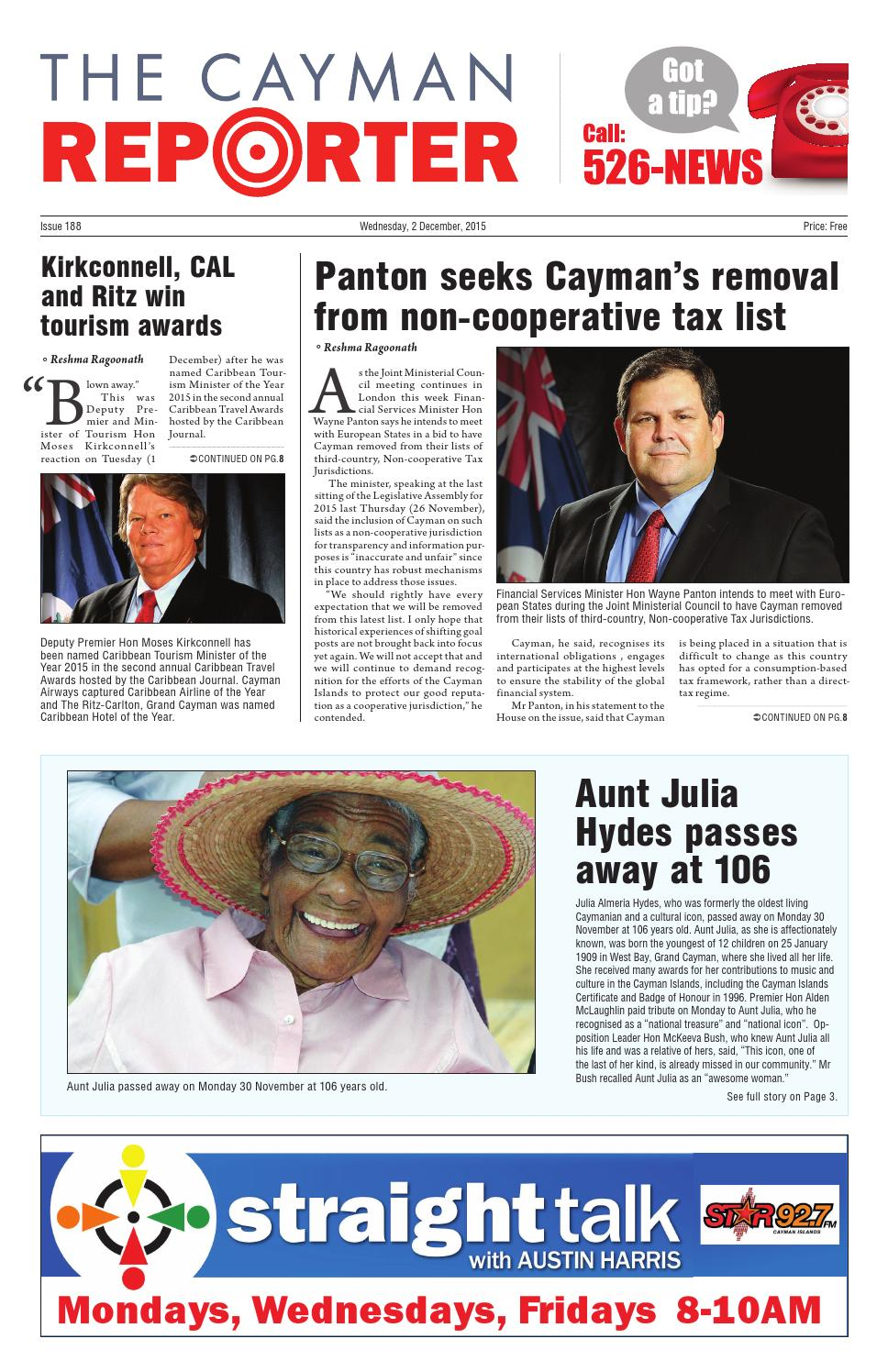 The Cayman Reporter